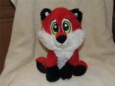 "Plush stuffed Red & White Fox Fiesta ""Bandit"" 10.5"" Excellent Clean"