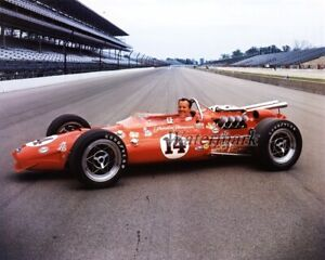 Cart 1976 A. J. Foyt Indy 500 with Ford Coyote 67 Color  8 X 10 Photo Picture