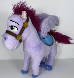 "Disney Sofia The First Minimus Pegasus 8"" Plush Purple Winged Horse"
