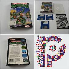 Teenage Mutant Ninja Turtles Ultra gioco per Amiga Testato & Lavoro