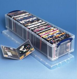 Really Useful Box 22 Liter 50 DVDs Geschenkpapier Packpapier Weihnachtsschmuck