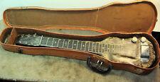 Vintage Magnatone Pearloid  Lap Steel Guitar MOTS 1949 W/ Original Geib Case