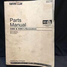 Caterpillar 330C 330C L Excavator Part Manual GKX MCA SEBP3152-09 Oct 05 938 Pgs