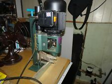 New listing Multico Pm12 Benchtop Hollow Chisel Mortiser Mortising Machine England 1/2 Hp