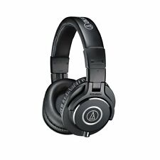 Audio Technica ATH-M40x Professional Studio Monitoring  Headphones Black