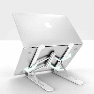Universal Tablet Desk Stand Holder Mount Cradle Adjustable Foldable -White