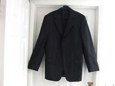 B Mens Medium Fits Size 40 - 42 Inch Chest Black Suit Jacket Ermenegildo Zegna