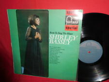 SHIRLEY BASSEY Born to sing the Blues LP 1967 AUSTRALIA VG+ First Press