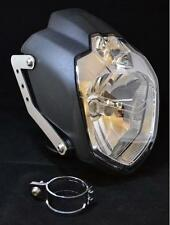 Yamaha MT03 LSL headlight inc brushed stainless steel brackets & 43-46 mm clamps