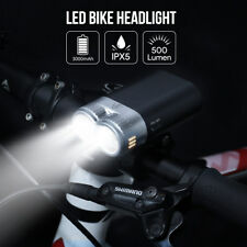 USB aufladbar 500lm LED Fahrradlampe Frontlicht Fahrradlicht Fahrradbeleuchtung