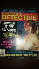 headquarters detective magazine november 1988 good condition for age