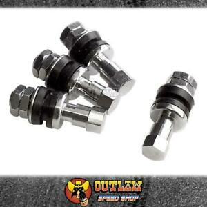 BILLET SPECIALTIES BOLT-IN CHROME VALVE STEMS - BS999900