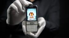 Nokia E55 3G Phone Silver - 'The Masked Man'