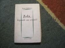 Henri GUILLEMIN: Zola, légende ou vérité?