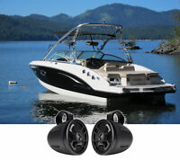 "(2) Hifonics TPS-CMS65 6.5"" 300 Watt Wakeboard Tower Marine Speakers For Boat"