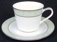 "Noritake China Vienne Pattern #6885 Cup & Saucer Set 2 3/4"""