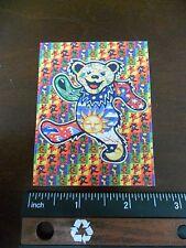"3.25"" Grateful Dead LSD DANCING BEAR Vintage style STICKER. For your bong, pipe."