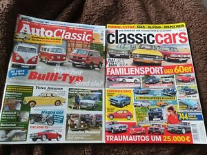 Auto Classic Aug/Sep 5/2020 und Classic Cars 09/2020 Top Zustand - Oldtimer