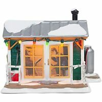 Department 56 Snow Village Home Sleet Home Fish Shack Lighted Christmas Building
