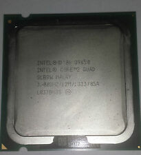 Intel® Core™2 Quad Processor Q9650  (12M Cache, 3.00 GHz, 1333 MHz FSB)