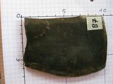 Original Büffelhorn dunkel, marmoriert, ideal als Griffschalen, 9x6x0,6 Nr. B7