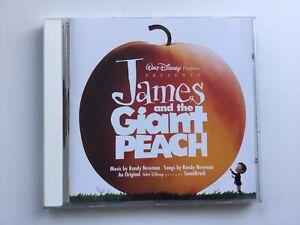 "DISNEY ""JAMES AND THE GIANT PEACH"" OST 1996 CD RANDY NEWMAN"