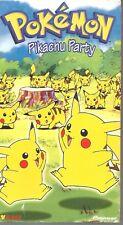 Pokemon - Pikachu Party - VHS PIKA-0012D - Color - 75 minutes - Viz Video - 1998