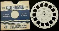 View-Master # 64 Island of Oahu Hawaii  (undated)