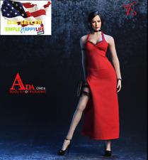 """1/6 Ada Wong Resident Evil Dress set For 12"""" female figure PHICEN Hot Toys ❶USA❶"""