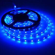 Blue 5M SMD 2835 60Leds/m LED Strip Light Flexible 300Led Lamp DC 12V