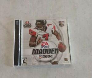 EA Sports Madden 2004 PC Video Game- 2 Disc CD Rom Set- NFL Michael Vick