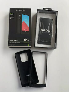 Mophie Juice Pack Battery Case for LG G4 - 3,450 mAh - 80% Extra Battery - Black
