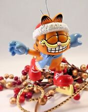 Enesco Garfield Ornament Holiday on Ice No Box
