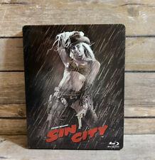 Frank Miller's Sin City - Limited Edition Steelbook (Blu-ray) Jessica Alba Rare