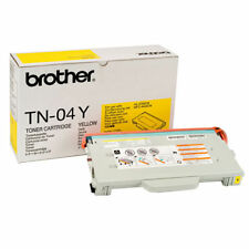 Brother TN-04Y Cartouche de Toner-Jaune-Scellé HL2700CN MFC9420CN