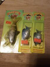 3 NOS NIP POSSUM Soft Body Bait Fishing Lures