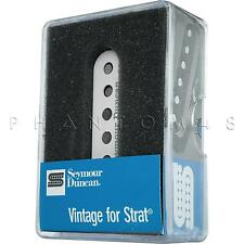 Seymour Duncan SSL-1 Vintage Staggered for Strat Single-Coil Guitar Pickup WHITE