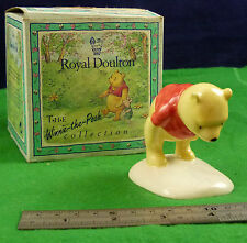 ROYAL DOULTON WINNE THE POOH & THE PAW MARKS RD7251