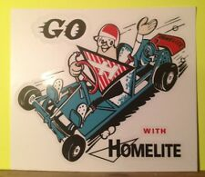 Homelite Go-Kart Decal Old School 1960 window Ford; 20