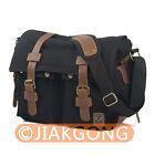 Vintage waterproof DSLR Camera Bag Messenger Shoulder Bag For Nikon Sony Canon