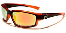 Biohazard Two-Tone Color Accents Rectangle Men's Sunglasses