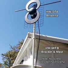 Happy Wanderer Digital8 DT8 HD Digital Long Range UHF VHF HDTV Caravan Antenna