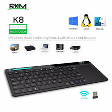 Rikomagic RKM K3 Wireless USB 2.4GHz Multimedia Keyboard Touchpad Mouse 4 TV PC