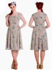 Knee Length Chiffon Dresses for Women's 1950s