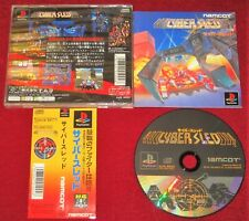 *Complete* PS1 Action Shooting Game CYBER SLED NTSC-J Japan Import PlayStation