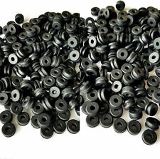 "250 Count of  Rubber Grommets 1/8"" Inside Diameter- Fits 1/4"" Diameter Holes"