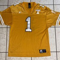 Vintage 90s  Tennessee Volunteers Starter Football Jersey Nylon Men's Size Large
