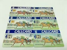 X6 IRELAND CALLCARD PHONECARDS EIRCOM IRISH HORSE RACING