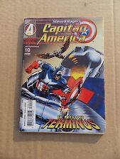 Capitào América 10 . Editora Abril  . 1996 . FN / VF