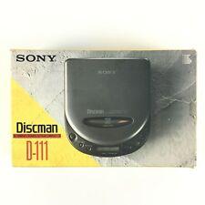 Sony D-111 Walkman CD Baladeur Lecteur Portable Disque Discman Player